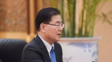 South Korea's Moon taps ex-adviser as foreign minister in bid to revive North Korea talks