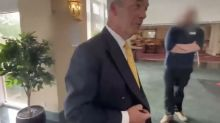 What is the true story behind Nigel Farage's claim that 'illegal' immigrants are staying in hotels?