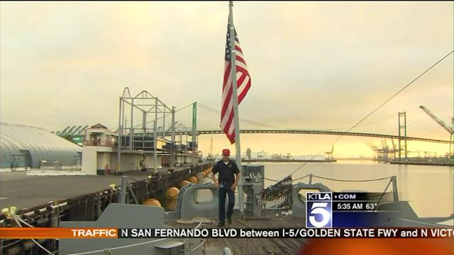 Memorial Day Observed in SoCal Aboard Battleship IOWA