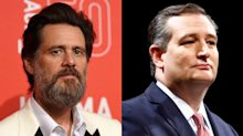 Jim Carrey calls Ted Cruz 'greasy' and 'shameless' in feud over actor's abortion painting