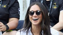 Meghan Markle Wore Black Capris to Audi Polo