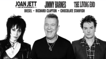 Jimmy Barnes, The Living End & Joan Jett lead Red Hot Summer Tour 2019 Lineup