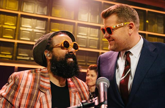 CBS greenlights another James Corden show... on Snapchat