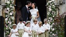 Pippa Middleton's wedding reception details revealed: Meghan Markle sat apart from Harry, and waiters were models