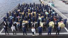 EE.UU. incauta miles de kilos de droga en el mar y detiene a narcotraficantes