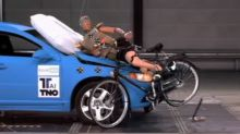 External airbags to protect cyclists could feature on future cars