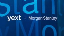 Morgan Stanley Chooses Yext Brain to Manage Financial Advisors' Digital Knowledge