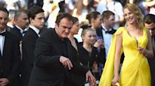 Quentin Tarantino Cuts a Rug for the 'Pulp Fiction' Party at Cannes