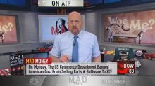 Cramer: A trade war with China produces a lot of losers a...