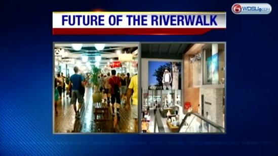 Retail stores prepare to move out of Riverwalk center