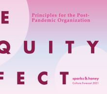 New Report By Sparks & Honey Explores The Five Biggest Shifts For The Post-Pandemic Organization Centered On Equity As The Solution
