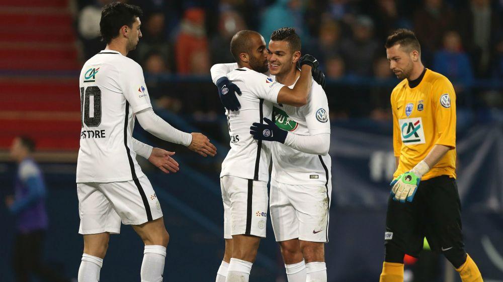 Coupe de France: Paris zieht ohne Draxler ins Halbfinale ein