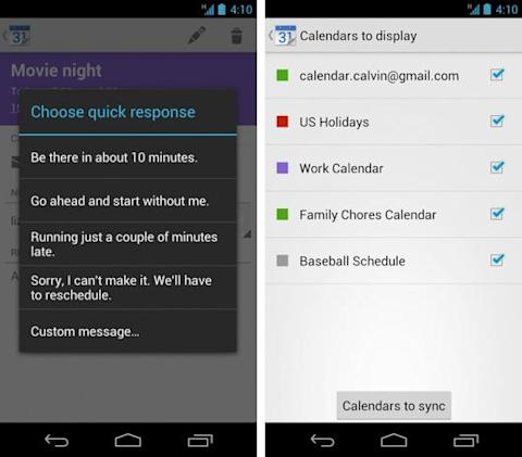 Google Calendar for Android becomes stand-alone app