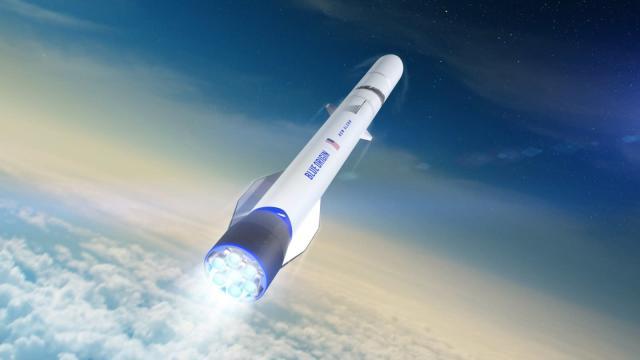 Blue Origin's New Glenn rocket wins Air Force contract