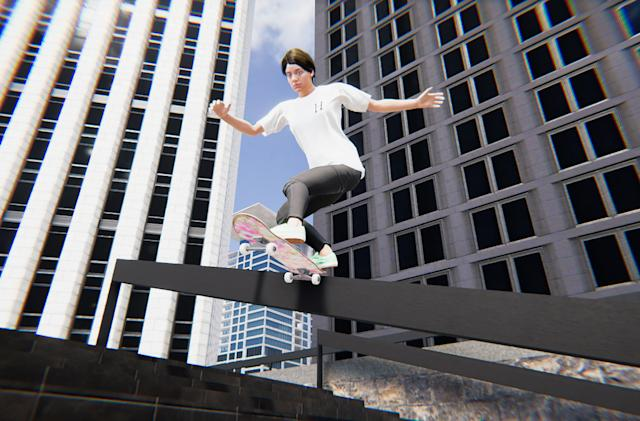 'Skater XL' is the realistic skateboarding game I've been waiting for