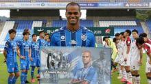 Júnior Negão marca e recebe homenagem na Coreia do Sul