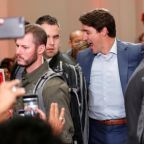 Trudeau appears at rally in bulletproof vest after unspecified 'security threat'