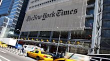 New York Times stock is up more than 70 percent since the election and just hit a nine-year high