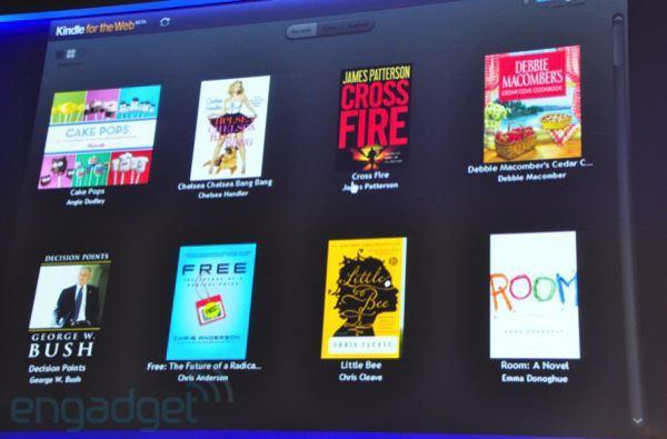 Amazon demonstrates new Kindle for the Web, coming to Chrome Web Store early next year