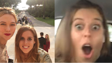 Princess Beatrice Freaking Out Over Karlie Kloss' Engagement Ring Is 100% Relatable