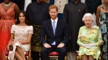 Queen Elizabeth's statement on Harry and Meghan's future