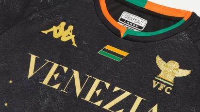 Foot - ITA - Venise - L'élégant maillot domicile du Venezia FC