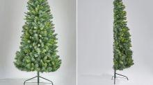 ¿No tienes espacio para el árbol de Navidad? ¡Esta es tu solución!