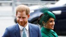 "Príncipe Enrique y esposa Meghan llaman a Gran Bretaña a terminar con ""racismo estructural"""