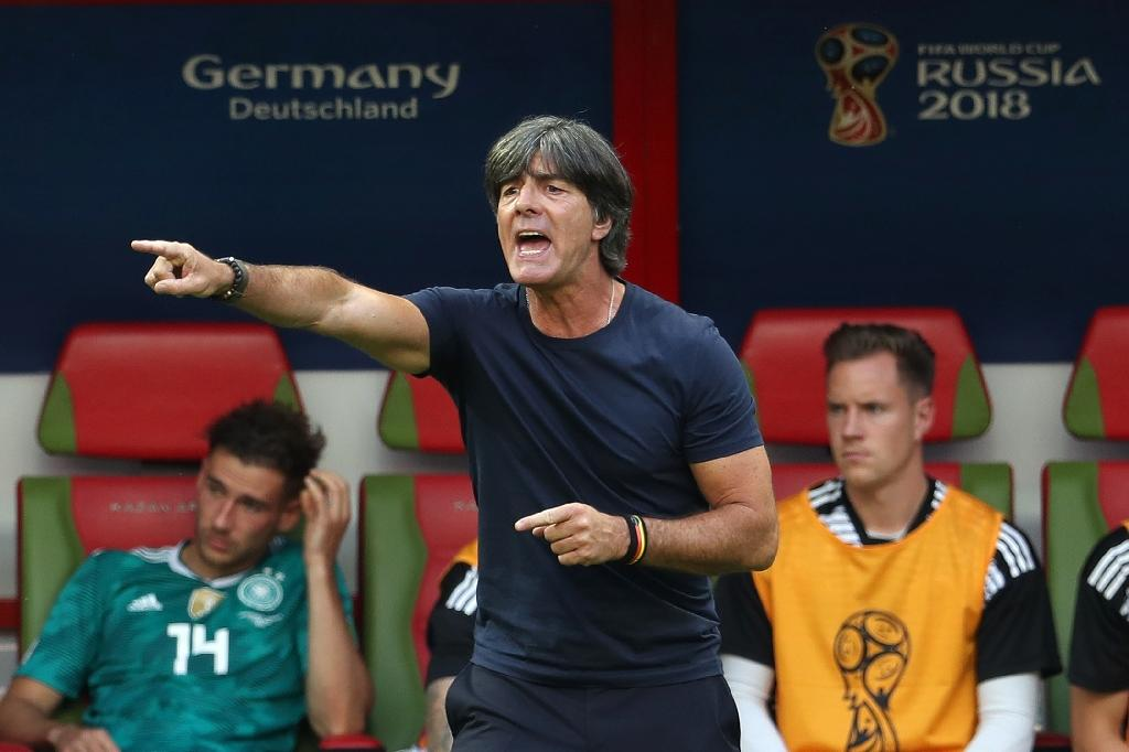 Germany's coach Joachim Loew is pressure to go after the holders' shock first round exit from the 2018 World Cup finals (AFP Photo/Roman Kruchinin)