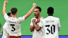 Arsenal beat Liverpool to win Community Shield as Aubameyang scores penalty shootout winner
