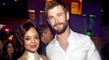 Men in Black spin-off set photos show off Chris Hemsworth, Tessa Thompson