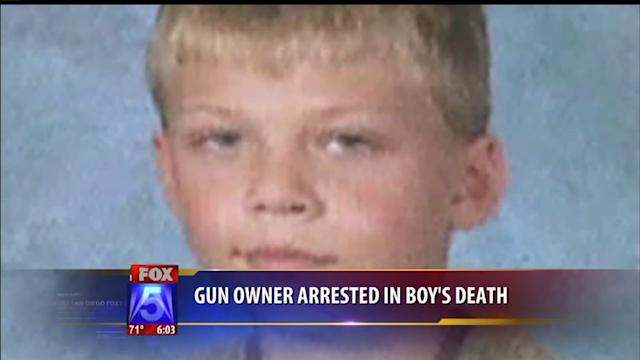 Gun Owner Arrested In Boy`s Shooting Death