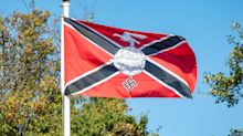 Grandfather claims he flew Nazi flag outside home to honour British war heroes