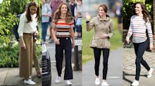 The Duchess of Cambridge's classic white Superga trainers are currently on sale