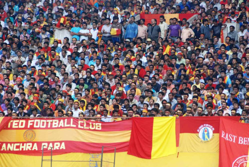 Brawl with TP Rehenesh, Damaging Robin Singh's car, Spitting at cab carrying Trevor Morgan: Supporters stage remonstration at East Bengal ground