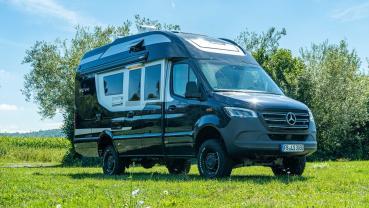La Strada Nova M成功以小車體做出寬敞又豪華的露營車屋