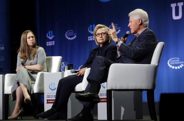 Bill and Chelsea Clinton are starting a podcast