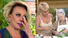 Ana Maria chora ao rever participação da mãe no 'Mais Você'