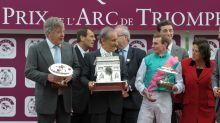 Racing - Ulysses' Trojan effort gives Stoute record win