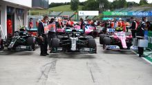"""Nach Schummel-Tadel: Hamilton witzelt über """"drei Mercedes"""""""
