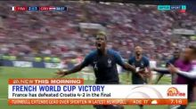 France wins the World Cup final