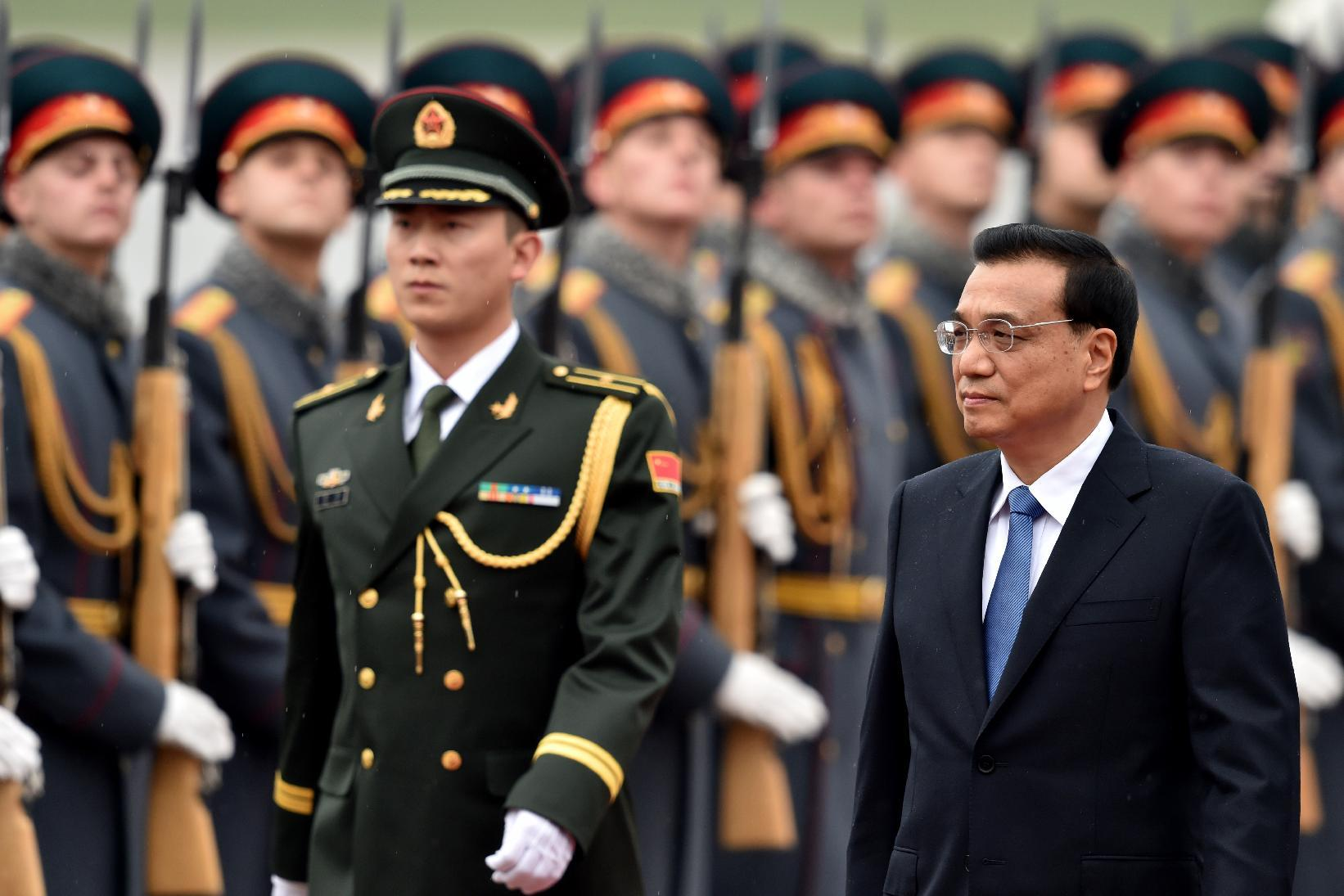 Chinese Prime Minister Li Keqiang's three-day Russia trip is part of a week-long visit to Europe (AFP Photo/Kirill Kudryavtsev)