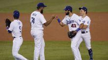 Dodgers 5 HRs, bounce Angels 9-5; Astros get last AL spot