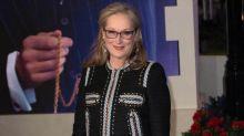 Meryl Streep recibe una estación de metro neoyorquina como regalo de cumpleaños
