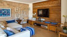 Pedra, madeira e tijolo: conheça uma casa rústica perfeita para a família