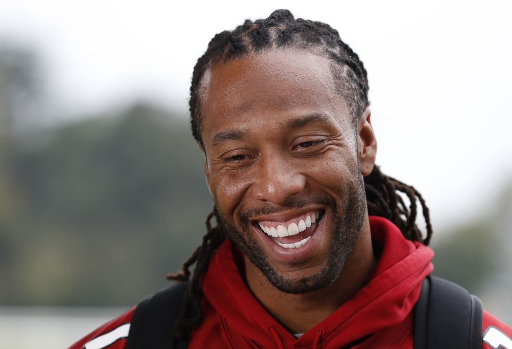 Larry Fitzgerald isn't as close to retirement as you'd think, according to a report. (AP)