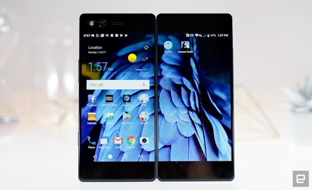 ZTE's dual-screen Axon M is fascinating and flawed
