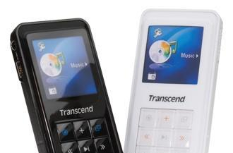 Transcend's T.sonic 820 DAPs, with 4GB of flash