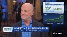 Sage CEO on post-partum depression, innovation for the co...
