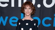 Kathy Griffin postpones Miami show after plane makes an emergency landing: 'Scrapes and cuts, but everybody's OK'
